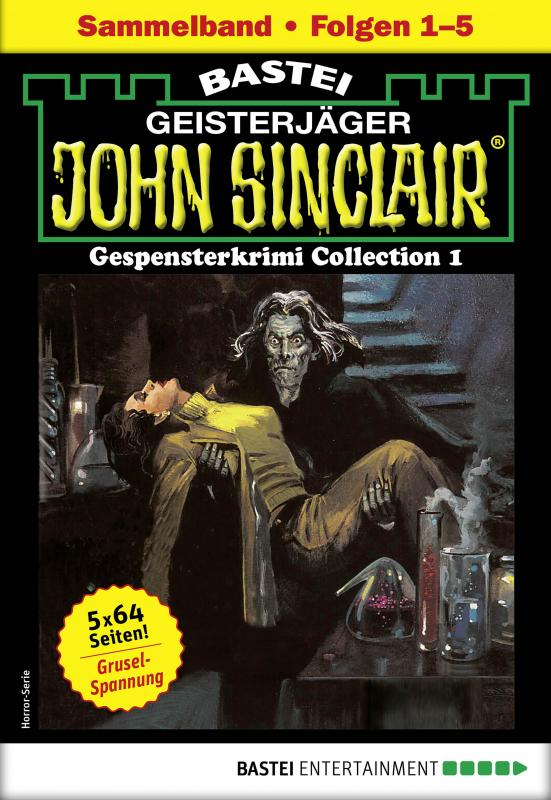 Cover-Bild John Sinclair Gespensterkrimi Collection 1 - Horror-Serie