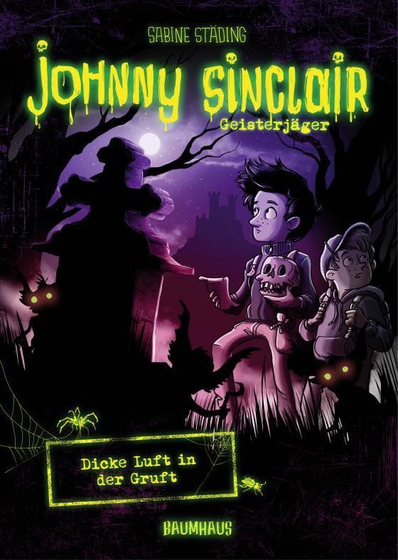 Cover-Bild Johnny Sinclair - Dicke Luft in der Gruft