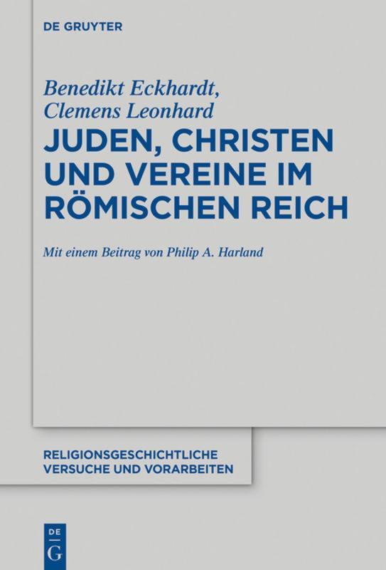 Cover-Bild Juden, Christen und Vereine im Römischen Reich