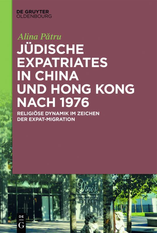 Cover-Bild Jüdische Expatriates in China und Hong Kong nach 1976