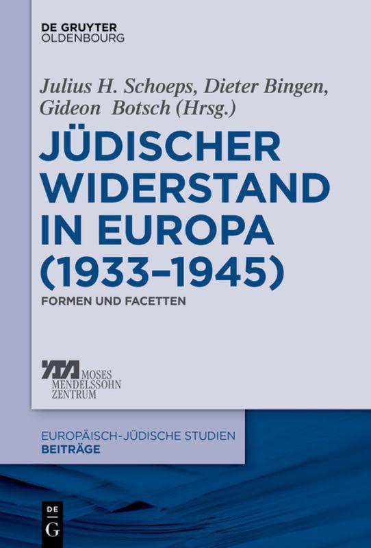 Cover-Bild Jüdischer Widerstand in Europa (1933-1945)