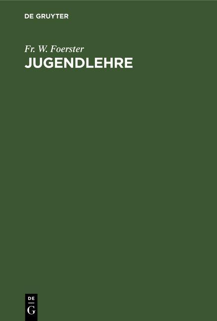 Cover-Bild Jugendlehre