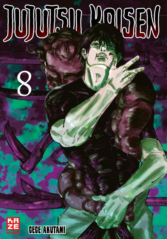 Cover-Bild Jujutsu Kaisen – Band 8