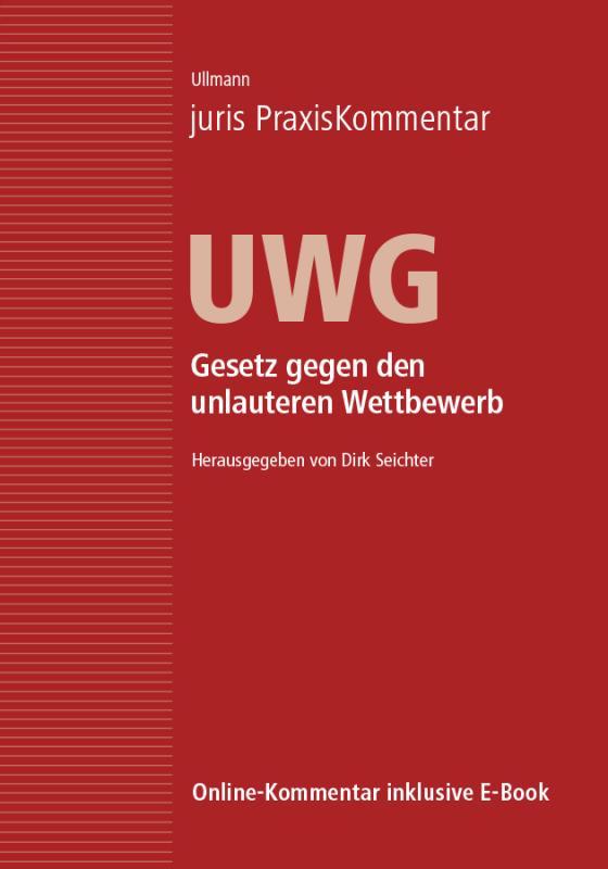 Cover-Bild juris PraxisKommentar UWG