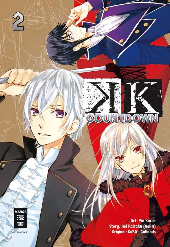 Cover-Bild K – Countdown 02