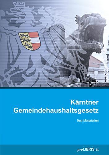 Cover-Bild Kärntner Gemeindehaushaltsgesetz