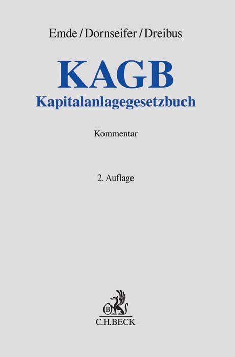 Cover-Bild KAGB