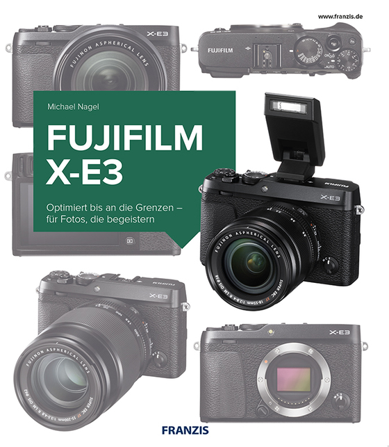 Cover-Bild Kamerabuch Fujifilm X-E3