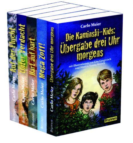 Cover-Bild Kaminski-Kids: Die Taschenbücher 1-5 im 5er-Paket