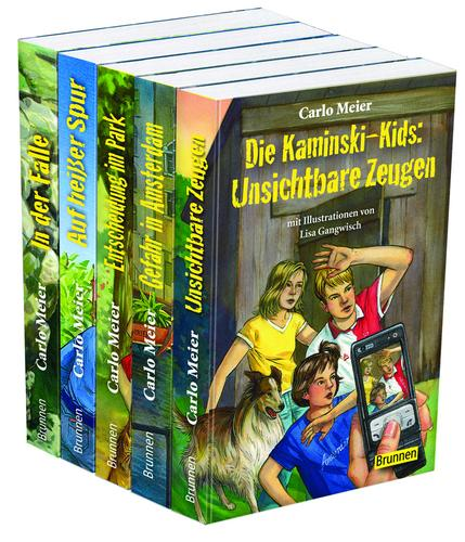 Cover-Bild Kaminski-Kids: Die Taschenbücher 6–10 im 5er-Paket
