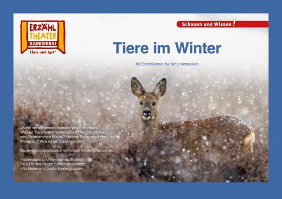 Cover-Bild Kamishibai: Tiere im Winter