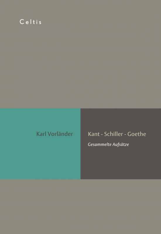 Cover-Bild Kant - Schiller - Goethe