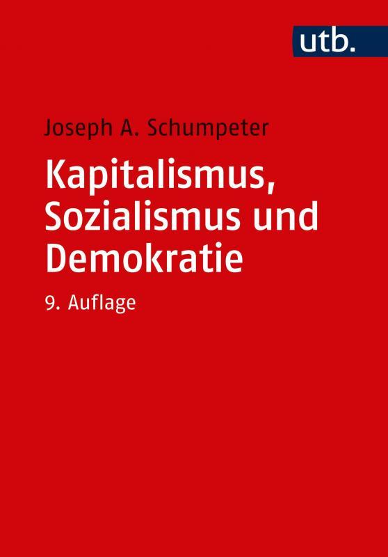 Cover-Bild Kapitalismus, Sozialismus und Demokratie
