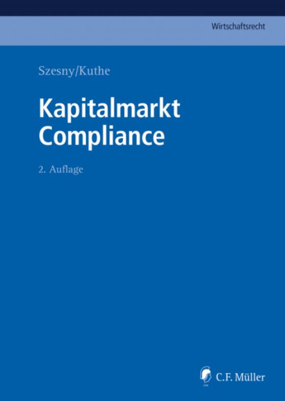 Cover-Bild Kapitalmarkt Compliance
