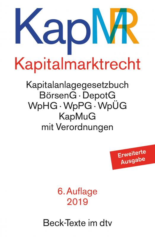 Cover-Bild Kapitalmarktrecht