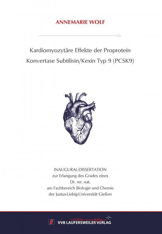 Cover-Bild Kardiomyozytäre Effekte der Proprotein Konvertase Subtilisin/Kexin Typ 9 (PCSK9)