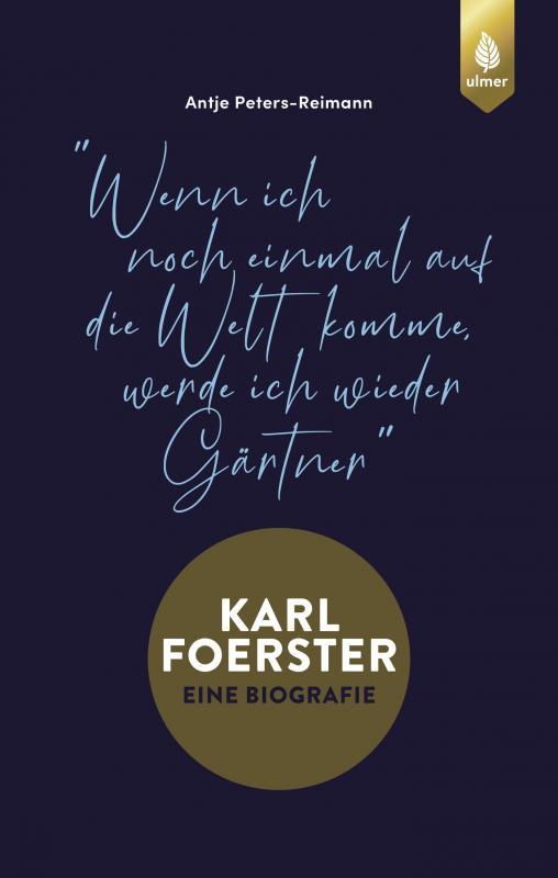 Cover-Bild Karl Foerster - Eine Biografie