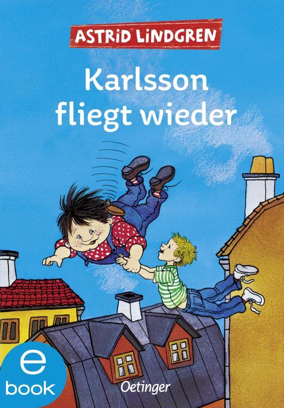 Cover-Bild Karlsson fliegt wieder