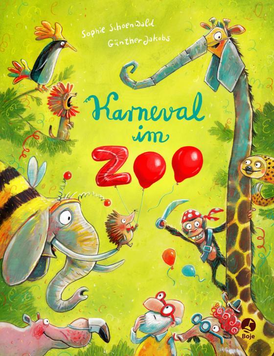 Cover-Bild Karneval im Zoo