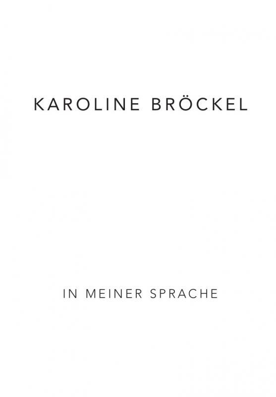 Cover-Bild Karoline Bröckel