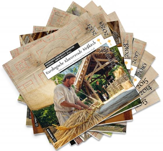 Cover-Bild Karolingische Klosterstadt Meßkirch - Chronik 2013-2021