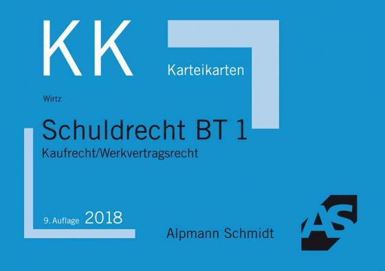 Cover-Bild Karteikarten Schuldrecht BT 1