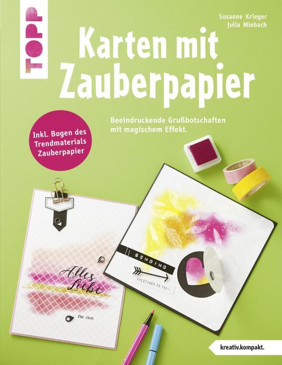 Cover-Bild Karten mit Zauberpapier (kreativ.kompakt)