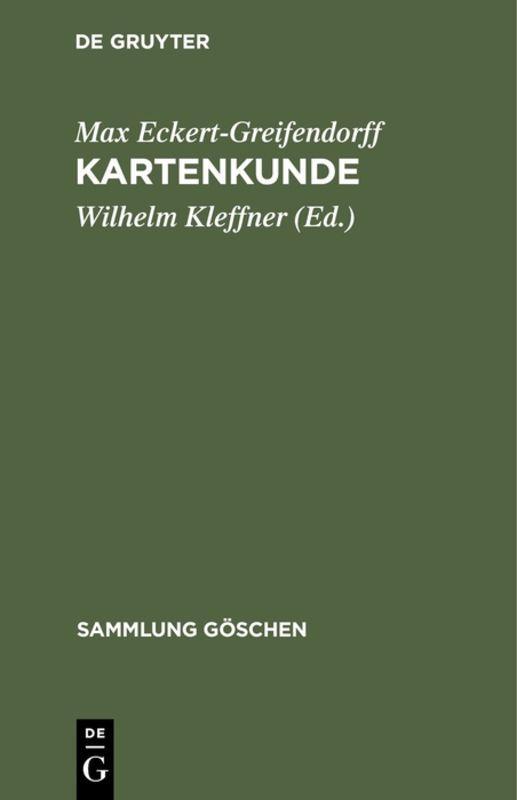 Cover-Bild Kartenkunde