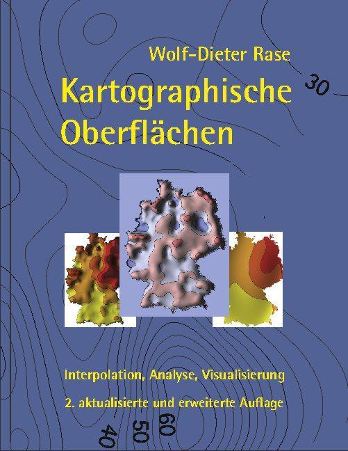Cover-Bild Kartographische Oberflächen, 2. akt. und erw. Aufl.