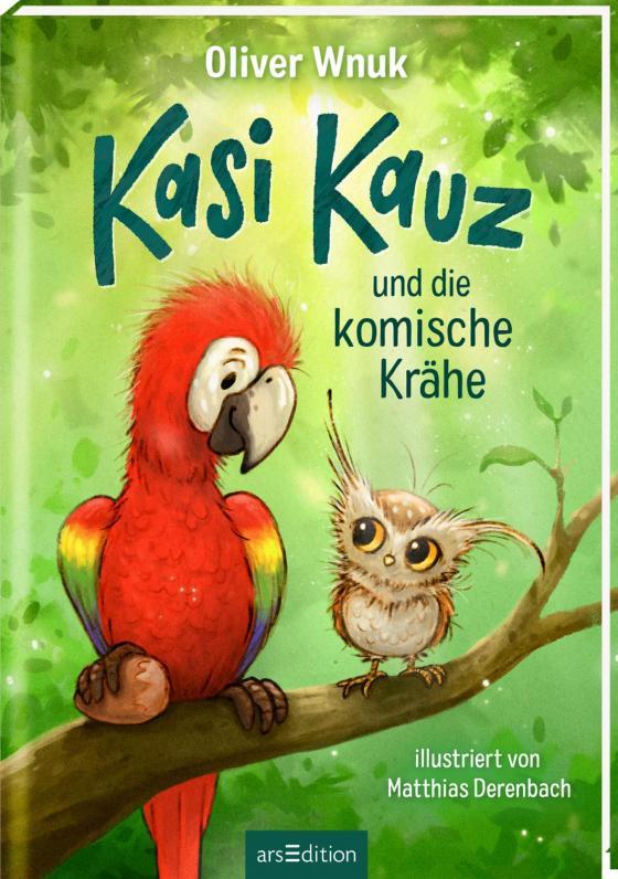 Cover-Bild Kasi Kauz und die komische Krähe (Kasi Kauz 1)