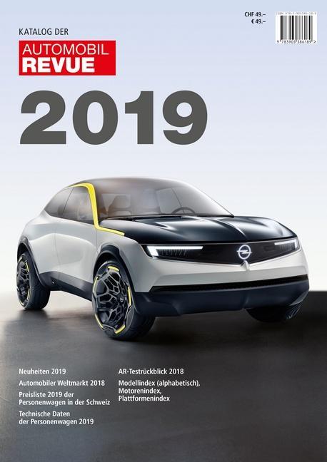 Cover-Bild Katalog der Automobil-Revue 2019