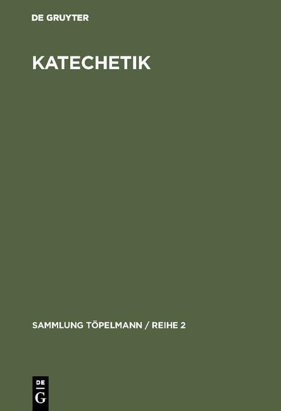 Cover-Bild Katechetik