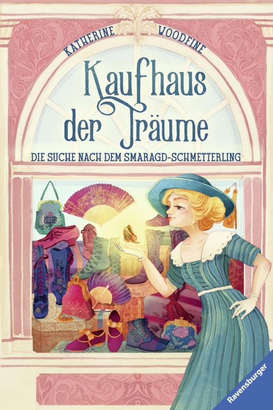 Cover-Bild Kaufhaus der Träume, Band 2: Die Suche nach dem Smaragd-Schmetterling