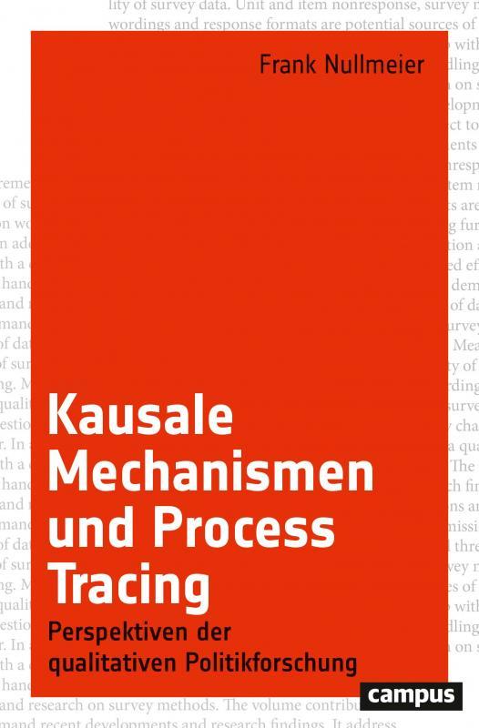 Cover-Bild Kausale Mechanismen und Process Tracing