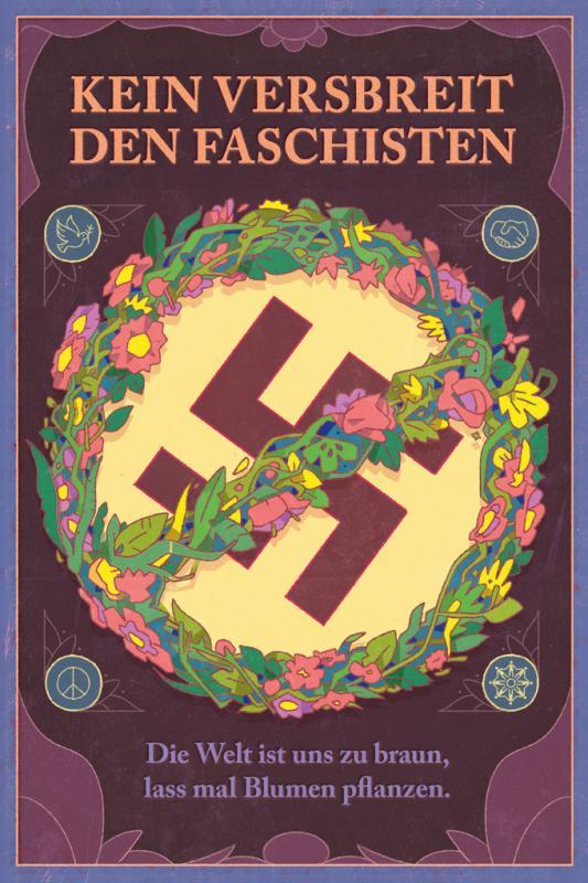 Cover-Bild Kein Versbreit den Faschisten