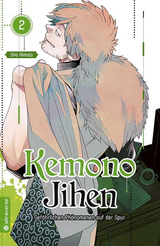 Cover-Bild Kemono Jihen – Gefährlichen Phänomenen auf der Spur 02