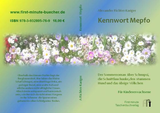 Cover-Bild Kennwort Mepfo