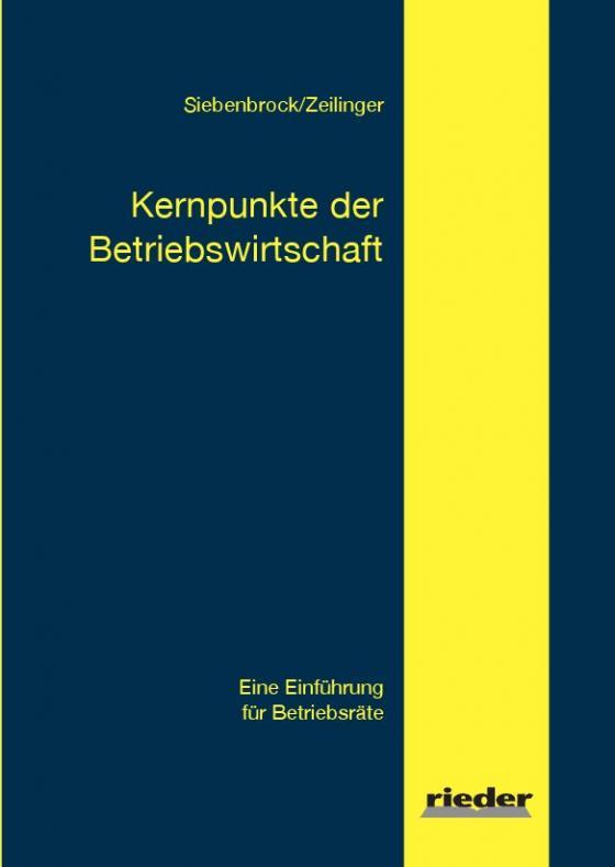 Cover-Bild Kernpunkte der Betriebswirtschaft