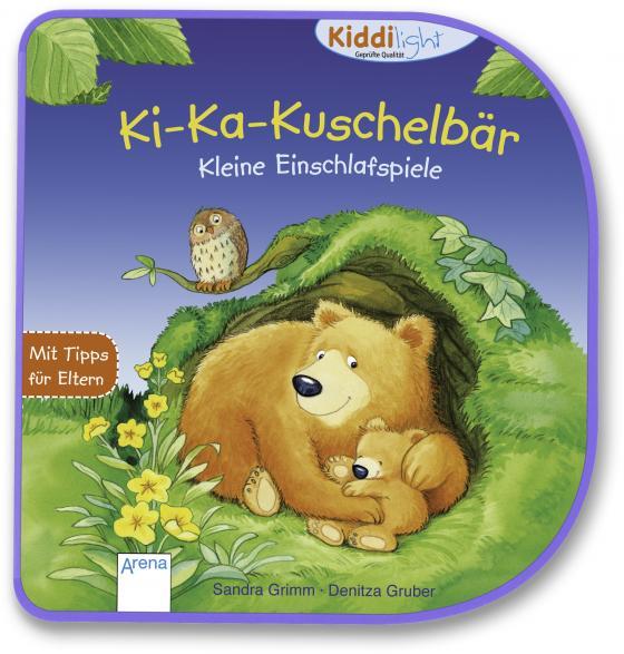 Cover-Bild Ki-Ka-Kuschelbär. Kleine Einschlafspiele