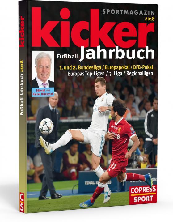 Cover-Bild Kicker Fußball-Jahrbuch 2018