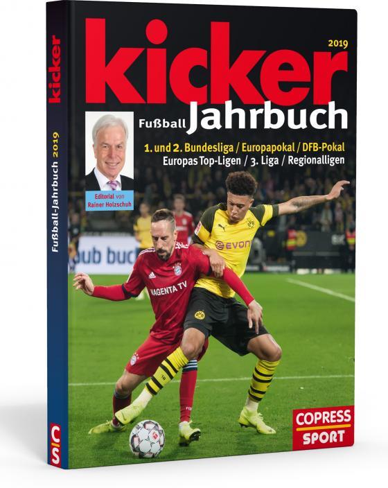 Cover-Bild Kicker Fußball-Jahrbuch 2019