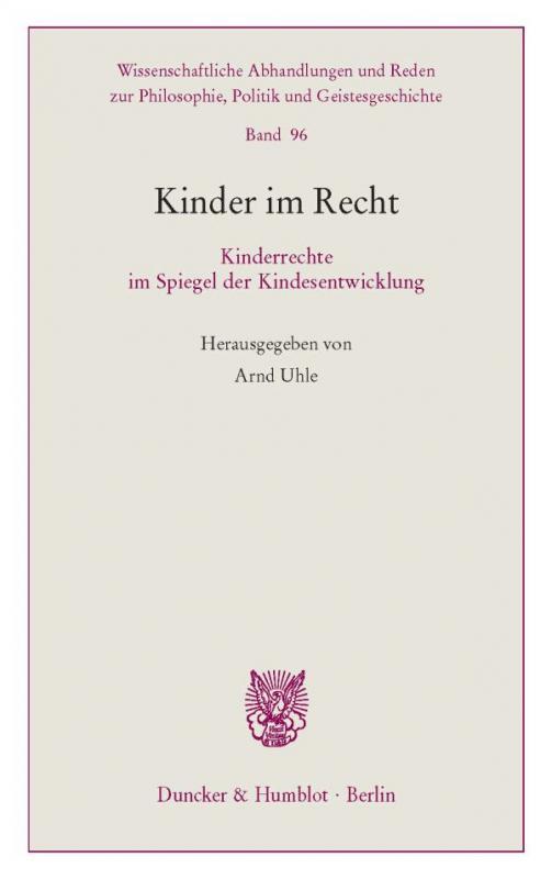 Cover-Bild Kinder im Recht.