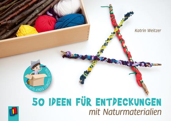 Cover-Bild Kita-Kinder-Lernspiel-Kisten. 50 Ideen für Entdeckungen mit Naturmaterialien