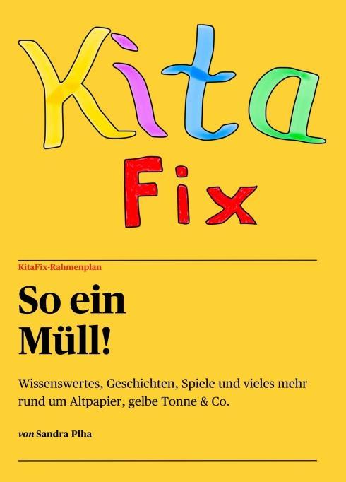 """Cover-Bild KitaFix-Rahmenplan """"So ein Müll!"""""""