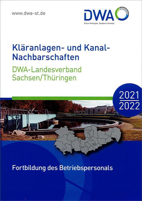 Cover-Bild Kläranlagen- und Kanal-Nachbarschaften 2021/2022