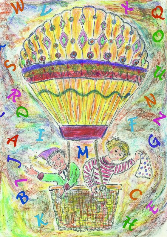 Cover-Bild Klaras wundersame Buchstabenreise
