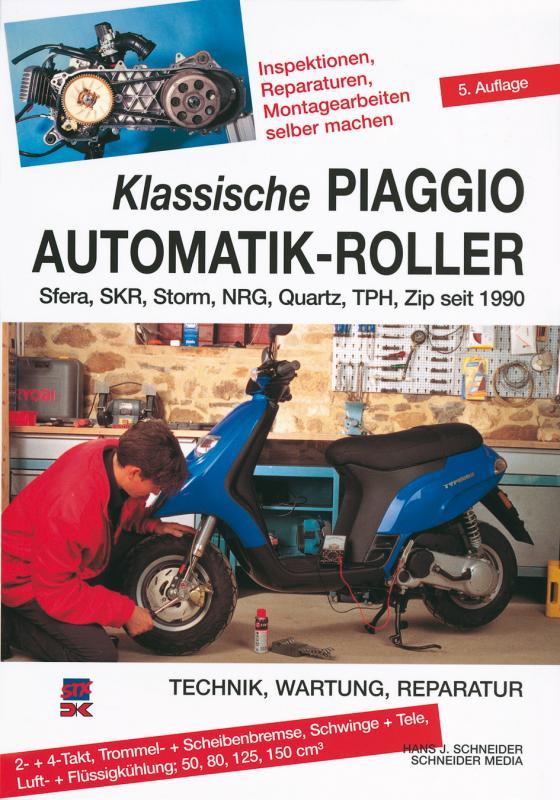 Cover-Bild Klassische Piaggio Automatik-Roller