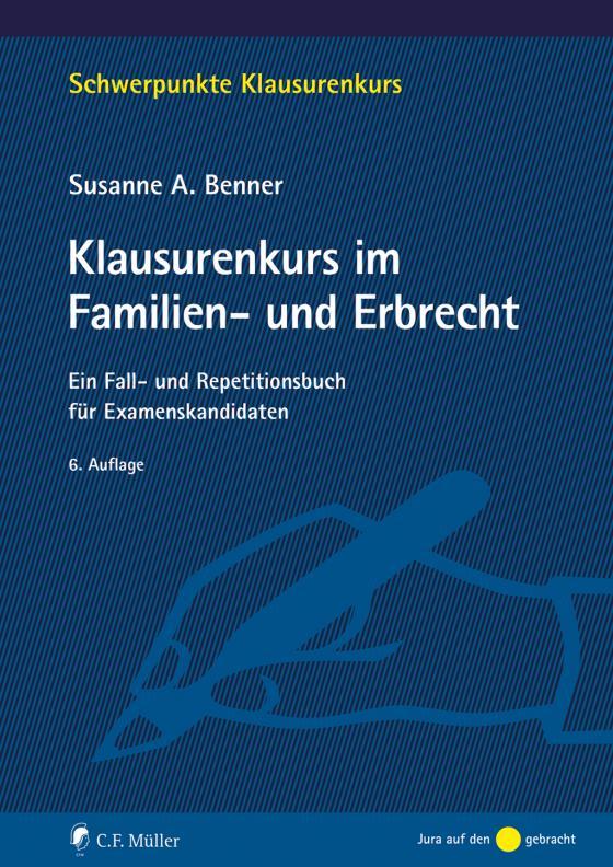Cover-Bild Klausurenkurs im Familien- und Erbrecht
