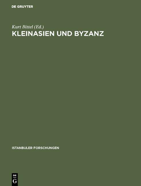 Cover-Bild Kleinasien und Byzanz