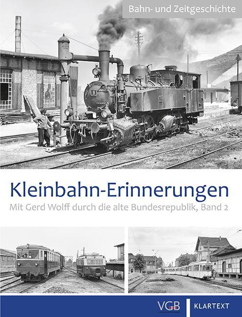 Cover-Bild Kleinbahn-Erinnerungen 2